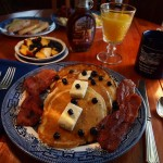 A delicious breakfast at Twin Gables B & B, Skamokawa, WA