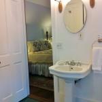 Ednas Room Bath at Twin Gables, a Bed & Breakfast Inn in SW Washington