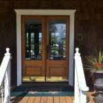 Twin Gables Bed and Breakfast Inn Front Door, SW Washington