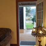 Vacation Rental Back Door at Twin Gables, Skamokawa, WA