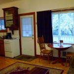 Vacation Rental Kitchen at Twin Gables B & B